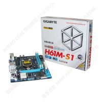 gigabyte/技嘉h61主板 H61M-S1 台式电脑主板1155针 厂家直供批发