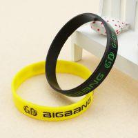 Big Bang 权志龙 GD个人款 周边 生日手环  果冻手环