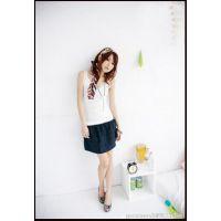 【颜色齐】2014韩版夏季新款外贸原单吊带衫 女式花边背心4036