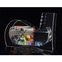 供应鞋子形状亚克力鱼缸 有机玻璃小鱼缸 装饰鱼缸