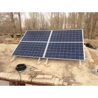 嘉峪关,酒泉市肃州区怀茂乡4000W家庭程浩太阳能光伏发电系统,各种新能源发电设备