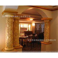 供应罗马柱雕刻|满天星装饰 欧式罗马柱模具厂 龙柱罗马柱订做厂家