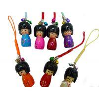 日本娃娃挂件 玩具批发  YX107