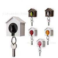 雀儿哨匙圈  让雀儿轻飞带着你与钥匙回家,钥匙随着雀儿回到树屋