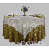 普通提花布 竹叶花 中西餐厅 台布 桌布 餐布