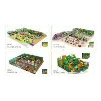 供应淘气堡森林主题儿童乐园