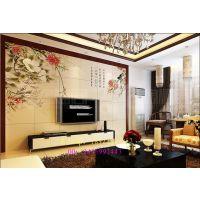 供应3d彩雕玻璃背景墙万能彩绘机  瓷砖电视背景墙UV平板印刷机