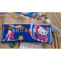【厂家直销】免费设计彩色长款PVC笔袋 学生专用PVC文具袋