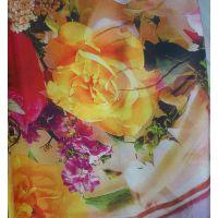 供应人造棉45x45,100x80数码印花布 人棉府绸印花 仿数码印花布 染色布