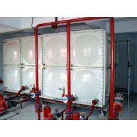 供应盖州玻璃钢水箱 SMC模压玻璃钢水箱 消防水箱