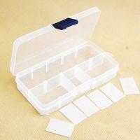 LOZ俐智钻石小颗粒积木塑料透明收纳盒容器儿童益智创意拼插