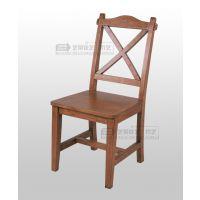 纯实木家具 餐椅 简约实木椅子 餐厅靠背椅子 时尚简约 厂家直销