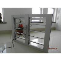 厂家自销铝合金电动百叶窗、消防联动、发电机联动