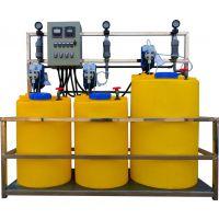 供应上海松江工业循环水自动加药设备 全自动加药设备 循环水加药设备