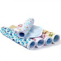 嘟来嘟玩 30*45全棉透气PU防水隔尿垫 婴幼儿纯棉布尿垫 尿片