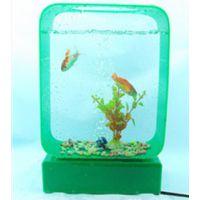 亚克力精品鱼缸 精美观赏鱼缸爱心水族箱工艺生态鱼缸迷你小鱼缸