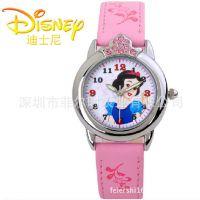 新款迪士尼儿童手表 小学生手表 卡通可爱女童公主手表 镶钻手表