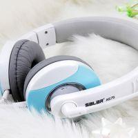 供应声籁A575 头戴式电脑耳麦 笔记本电脑游戏耳机头戴式带麦 批发