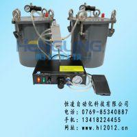 供应高精度手动点胶机,AB胶点胶机(配不锈钢压力桶)双液点胶机