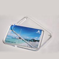 深圳供应圆角亚克力透明5寸磁铁相框 有机玻璃水晶影楼摆台