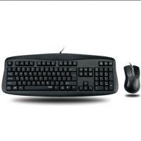 雷柏N3810 有线键鼠套装 电脑USB鼠标键盘套件 防水静音 游戏办公