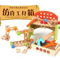 儿童工具箱 男孩仿真维修工具玩具工具台 宝宝修理套装