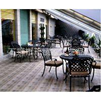 铁艺桌椅户外阳台庭院餐桌+餐椅椅子桌子欧式一桌四椅