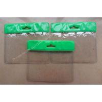 厂家生产高档透明卡套.PVC卡套.防水卡套 各种LOGO证件套
