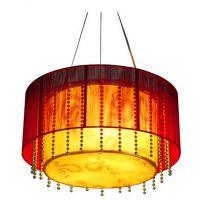 厂家批发中式吊灯 现代中式灯铁艺丝线客厅灯 餐厅灯卧室灯田园灯具