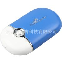 手持充电无叶风扇 掌上空调风扇 充电式迷你风扇 USB无叶风扇