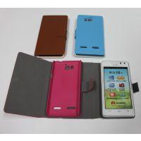 供应酷派7295手机皮套手机保护套深圳工厂
