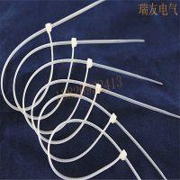 洲鹰塑料扎线带 尼龙扎带 自锁式束线带 扎捆绳带4*150 500条/包