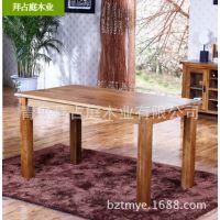 实木餐桌/1.2米实用餐桌/白橡木饭桌 餐厅家具 工厂直销家具批发