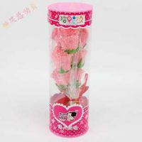 糖果总动员 198G/桶 玫瑰棉花糖—浪漫情人节礼物 永不凋谢的玫瑰