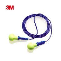3M 318-1005 Push -Ins免揉搓泡棉带线防噪音隔音防护听力耳塞