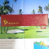 大红色纸质茶花海南珠宝高档项链包装盒首饰包装盒批发