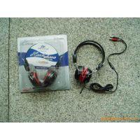 JS-960MV 电脑耳机  麦克风耳麦 网吧耳机  纯音硅胶耳机
