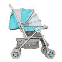 供应婴儿推车 轻便折叠可坐躺 全蓬避震宝宝四轮推车 一键折叠