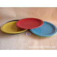 白色陶瓷餐具 自助餐厅肉盘 耐用菜盘 火锅城盘子 大型肉盘 A556
