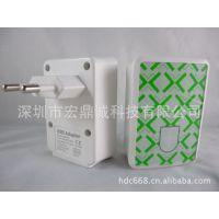 ipad&ihone手机USB充电器 欧规USB充电器 苹果四USB手机充电器