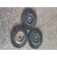 生产厂家供应5256-1平形钢丝轮 平行铜丝轮 平行磨料丝轮