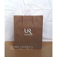 供应厦门牛皮纸服装包装袋手提袋
