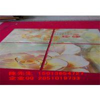 供应山东临沂瓷砖彩雕机厂家 电视背景墙打印机