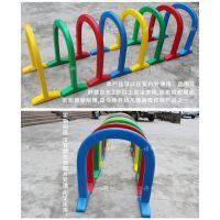 感统儿童钻洞 塑料游戏隧道 钻圈立体钻山洞8件套 幼儿园体育器材