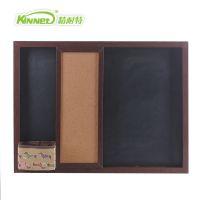 厂家直销 创意推拉式黑板 木制移动小黑板 教学多功能软木板 混批