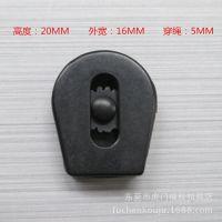 厂家直销现货,塑胶弹簧扣,绳扣,滑动扣,环保过检针