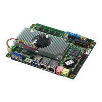 供应深圳派勤3.5寸HM77芯片集成CPU与2G/4G内存的1037U 工控主板