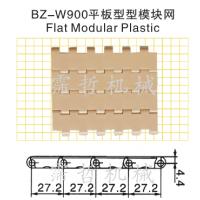 优质供应BZ-W900型挡板网链带 PP/POM物流输送设备配件