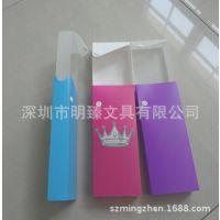 厂家定做 批发 PP透明塑料笔盒 礼品笔盒 环保铅笔盒 抽拉式笔盒