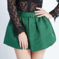 2014秋季新款欧美高端女装 纯色蓬蓬裤裙